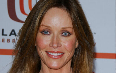 Actress Tanya Roberts arrives for the 4th annual TV Land awards held at Barker hangar in Santa Monica, California on March 19, 2006. (Chris Delmas/AFP)
