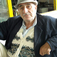 Jura Abaev in Khujand, Tajikistan. (Courtesy/Radio Free Europe Radio Liberty via JTA)