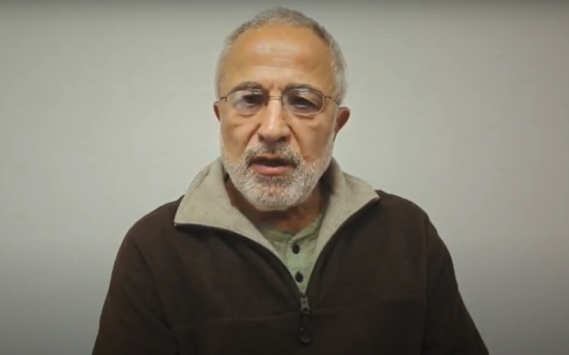 Abbas Ghassemi, a teaching professor at University of California, Merced's School of Engineering. (Screenshot: YouTube)