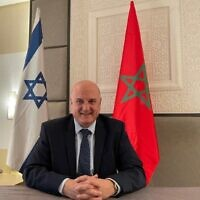Israel's new chargé d'affaires to Morocco David Govrin (Courtesy)