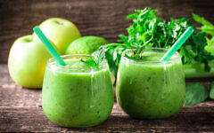 Illustrative: A green shake, like the ones in the diet developed by Prof. Iris Shai (id-art via iStock by Getty Images)