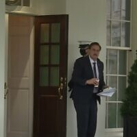 Mike Lindell is seen at the West Wing on January 15, 2021 (video screenshot)