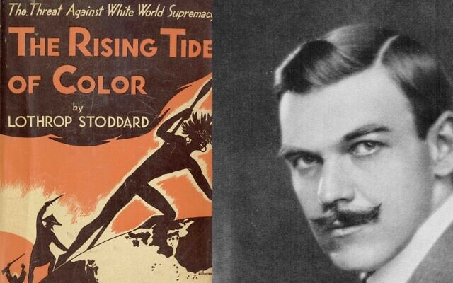 'The Rising Tide of Color,' published  by Lothrop Stoddard in 1920 (public domain)