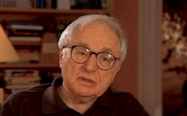 Walter Bernstein (YouTube screenshot)