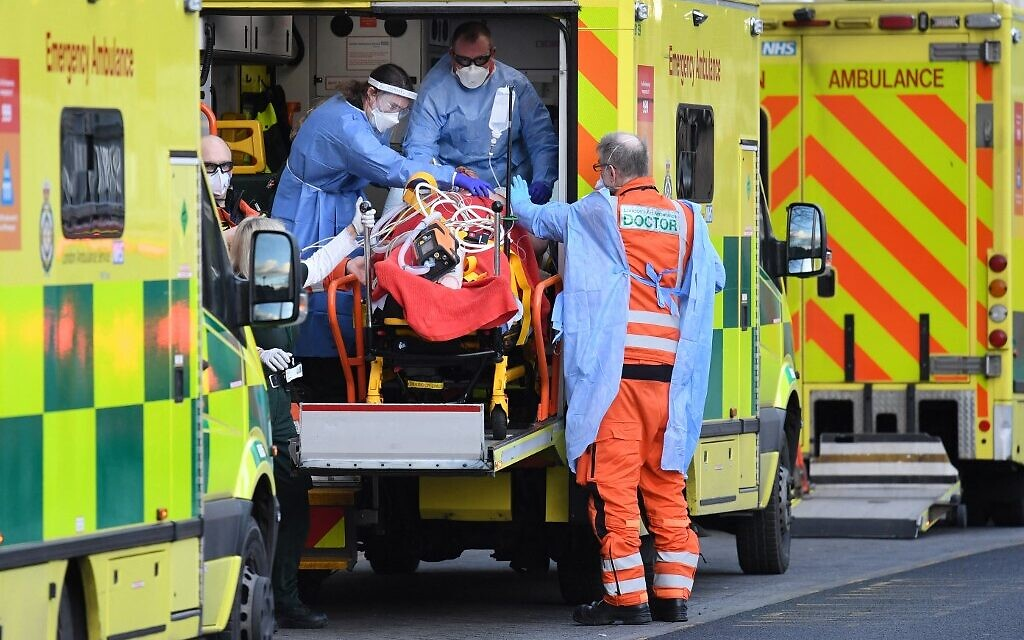 UK study: British COVID variant could be up to 70% more deadly - The Times of Israel