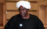 Sudanese businessman Abu al-Qassem Bortoum speaks during an inter-faith event to promote religious tolerance in Sudan's capital Khartoum on February 6, 2021.(Ebrahim HAMID / AFP)