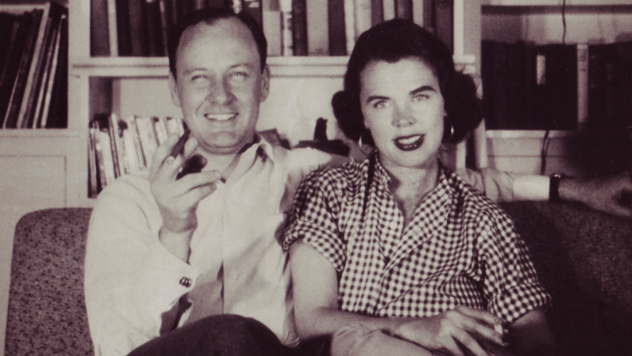 Stan and Joan Lee c. 1940s (Courtesy of the Stan Lee Papers, Box #177, American Heritage Center, University of Wyoming)
