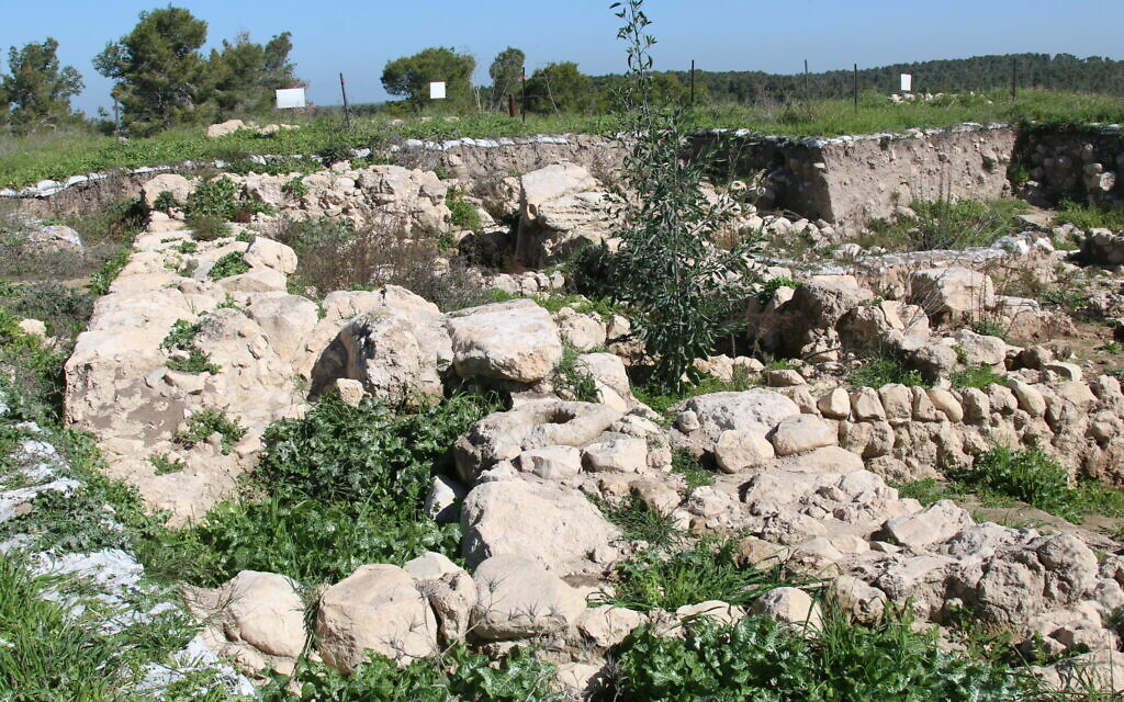 The biblical city of Ziklag dates back to the 12th century BCE. (Shmuel Bar-Am)