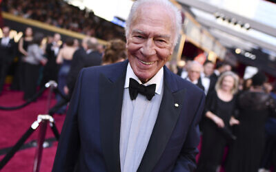 "Christopher Plummer arrives at the Oscars on March 4, 2018, in Los Angeles. Plummer, the dashing award-winning actor who played Captain von Trapp in the film ""The Sound of Music"" and at 82 became the oldest Academy Award winner in history, has died. He was 91. Plummer, the dashing award-winning actor who played Captain von Trapp in the film ""The Sound of Music"" and at 82 became the oldest Academy Award winner in history, has died. He was 91. Plummer died Friday morning, Feb. 5, 2021, at his home in Connecticut..  (Photo by Charles Sykes/Invision/AP, File)"