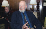 Author Lawrence Ferlinghetti appears in Oct. 8, 1988 (AP Photo/Frankie Ziths, File)