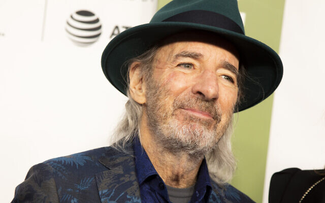 US actor and comedian Harry Shearer at the Beacon Theatre in New York, April 27, 2019. (Andy Kropa/Invision/AP)