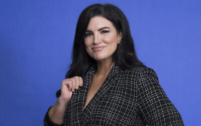 Gina Carano poses at the Disney + launch event promoting 'The Mandalorian'  at the London West Hollywood hotel in West Hollywood, Calif., Oct. 19. 2019 (Mark Von Holden/Invision/AP)