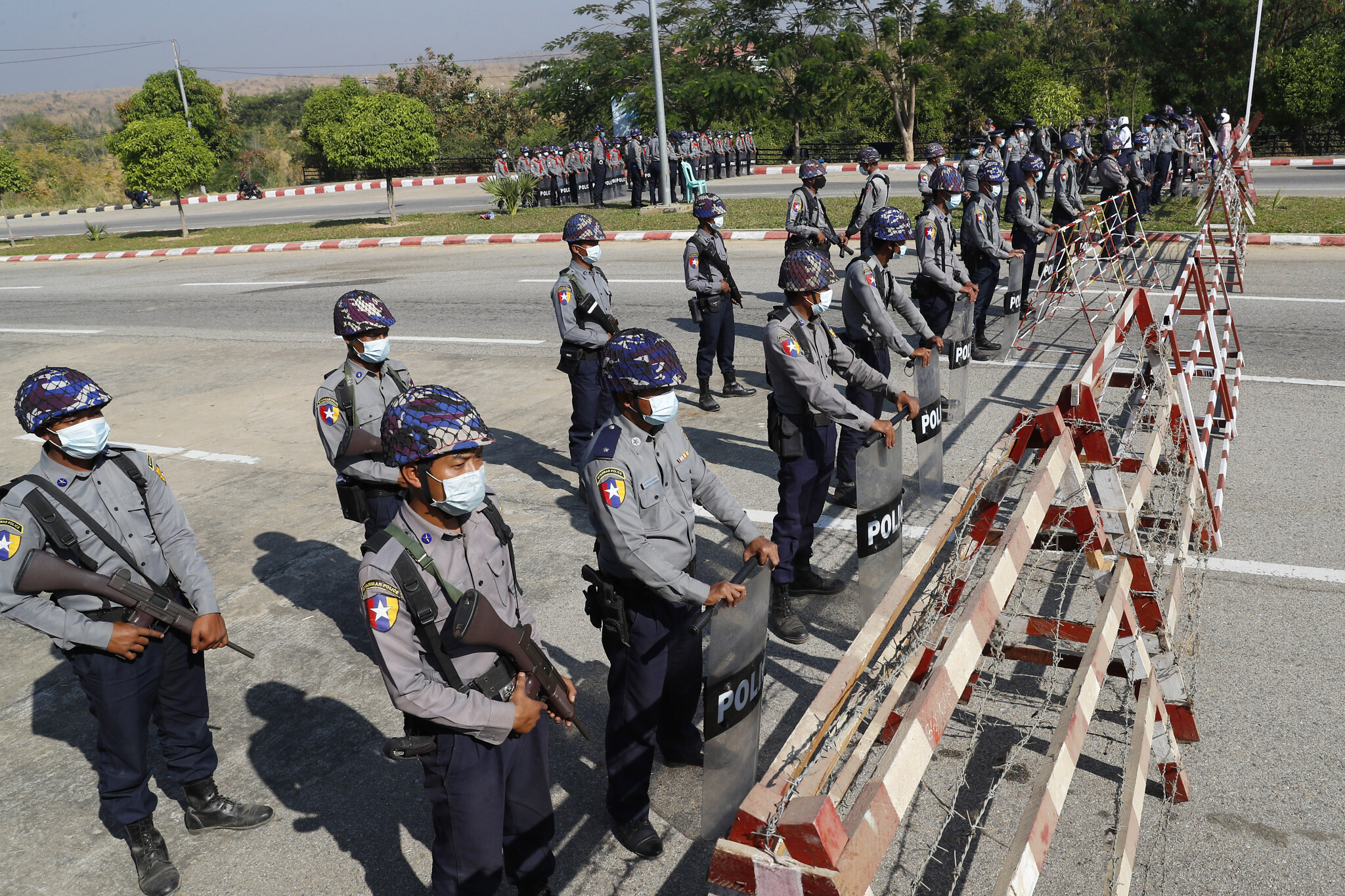 Myanmar military seizes power