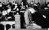 Marinus van der Lubbe is shown as he appeared in court in Leipzig, Germany, October 2, 1933, where he is on trial for the Reichstag fire in Berlin.  (AP Photo)