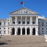 The Assembly of the Republic in Lisbon, Portugal (The Assembly of the Republic via JTA)