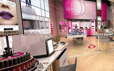 Lancôme plans more virtual stores like this one created using ByondXR's technology (ByondXR)