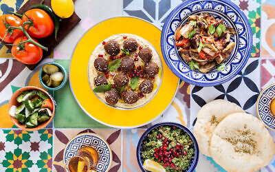 Elli Kriel, a sociologist by training, has succeeded as a chef by fusing traditional Jewish and Emirati recipes. (Courtesy of Kriel via JTA)