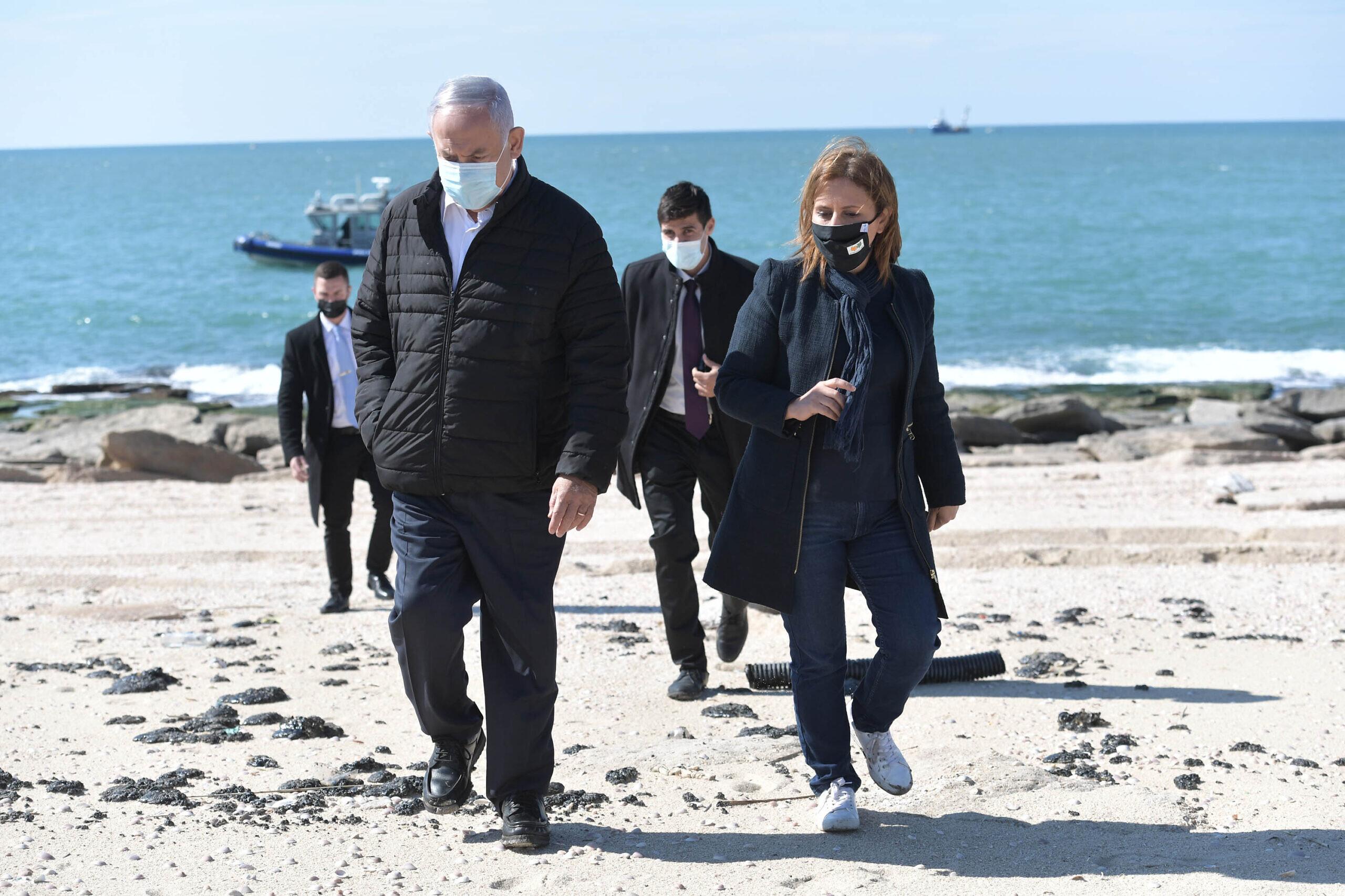 Israel says it has identified ship that caused massive oil leak in Mediterranean