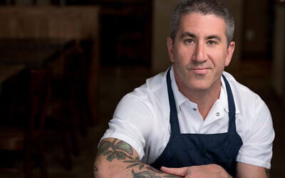 Chef Michael Solomonov. (Photo credit: Steve Legato)