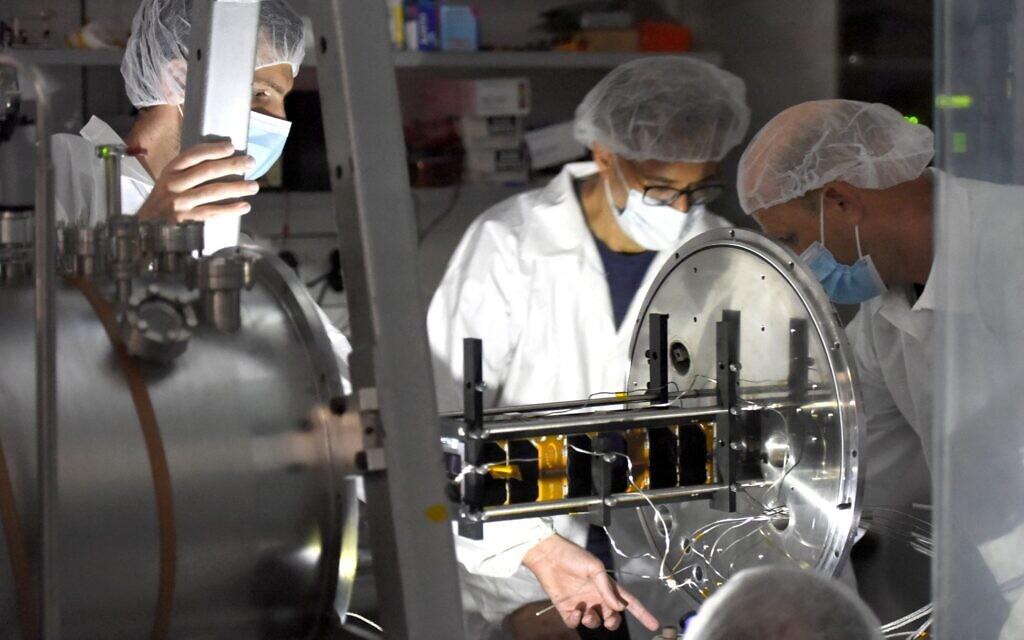 Israeli-made nanosatellite released into Earth orbit - The Times of Israel