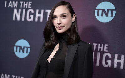 "Gal Gadot attends the premiere of ""I Am the Night"" on Jan. 24, 2019, in Los Angeles. (Photo by Richard Shotwell/Invision/AP, File)"