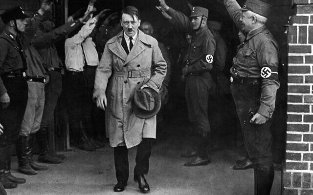 Nazi leader Adolf Hitler in Munich on Dec. 5, 1931. (AP Photo, File)