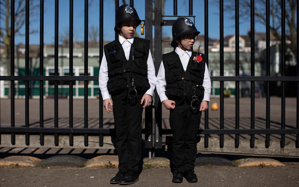 Purim in London. (Dan Kitwood/Getty Images via JTA)