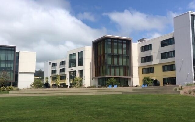 A view of the campus at California Polytechnic State University (video screenshot)