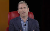 Amazon's Andy Jassy in 2019 (video screenshot)