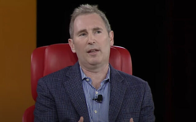 Amazon's Andy Jassy in 2019 (video screenshot)