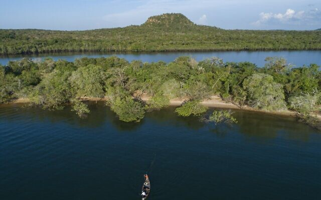 Illustrative: Fishermen work in the Tapajos river in the Alter do Chao district of Santarem, Para state, Brazil, August 27, 2020. (AP Photo/Andre Penner, FILE)