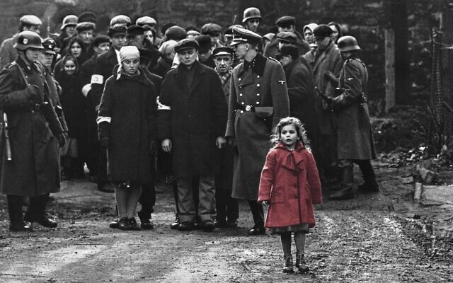 Frame from the 1993 movie, Schindler's List.