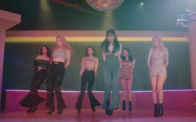 K-pop girl band GFriend (Screen grab/YouTube)