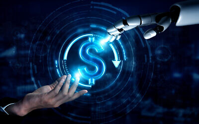 Illustrative image of artificial intelligence research, robots and banking (Blue Planet Studio; iStock by Getty Images)