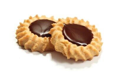 Stella D'oro Swiss fudge cookies (The Nosher/ via JTA)