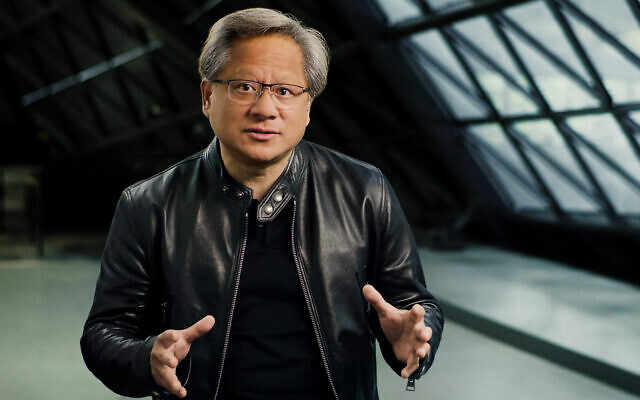 Jensen Huang, CEO and co-founder of US chip maker Nvidia. (Courtesy)