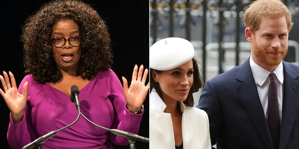 'Suicidal' Meghan tells Oprah royals worried about color of her son's skin