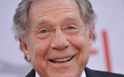 George Segal, pictured in 2010 in Los Angeles. (Photo by Chris DELMAS / AFP)
