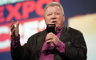 William Shatner participates in the 'William Shatner Spotlight' panel at C2E2 at McCormick Place on Sunday, March 1, 2020 in Chicago. (Rob Grabowski/Invision/AP)