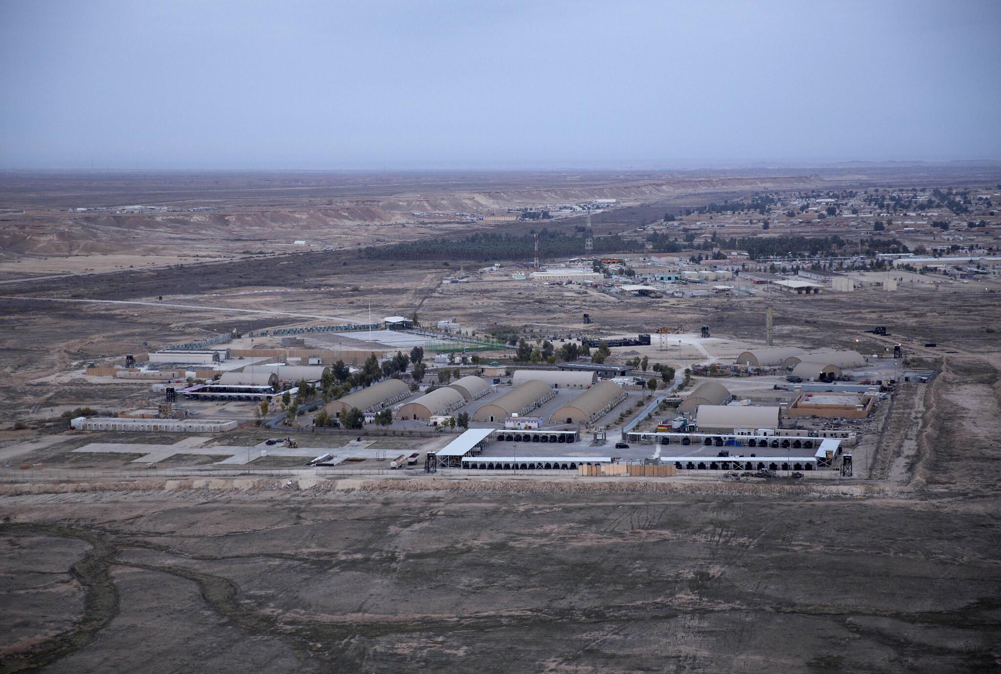 Iraqi Military Base Hosting U.S. Troops Targeted by Drone Strike