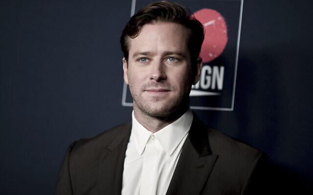 Armie Hammer attends the 13th Annual Go Gala on Nov. 16, 2019, in Los Angeles. (Richard Shotwell/Invision/AP)
