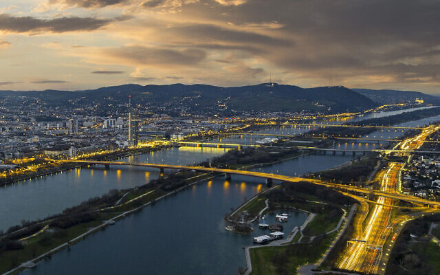 Illustrative: A view of Vienna in 2017 (Vienna Tourist Board via AP Images)