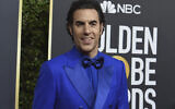Illustrative: Sacha Baron Cohen arrives at the 77th annual Golden Globe Awards at the Beverly Hilton Hotel on Sunday, Jan. 5, 2020, in Beverly Hills, Calif. (Photo by Jordan Strauss/Invision/AP)