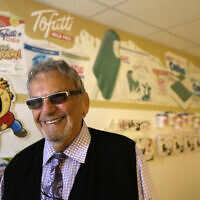 File: David Mintz poses inside his business, Tofutti, in Cranford, NJ, Aug. 23, 2013. (AP Photo/Julio Cortez)