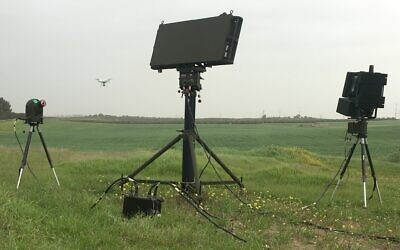 Drone Guard technology developed by Aerospace Industries (IAI) (Courtesy)