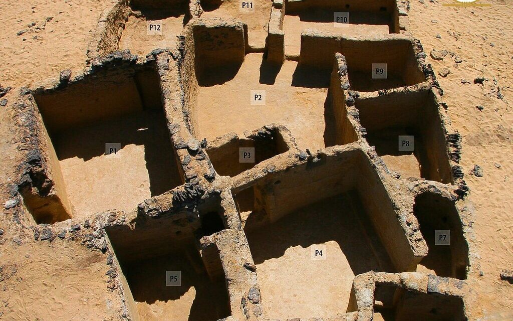 Ancient Christian Settlement Discovered In Egypt S Bahariya Oasis The Times Of Israel