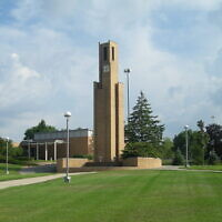 A view from the Ferris State campus in 2010. (Michael Barera/Wikimedia Commons via JTA)