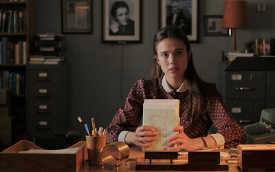 Margaret Qualley as 'Joanna' in 'My Salinger Year' (Courtesy of IFC Films)