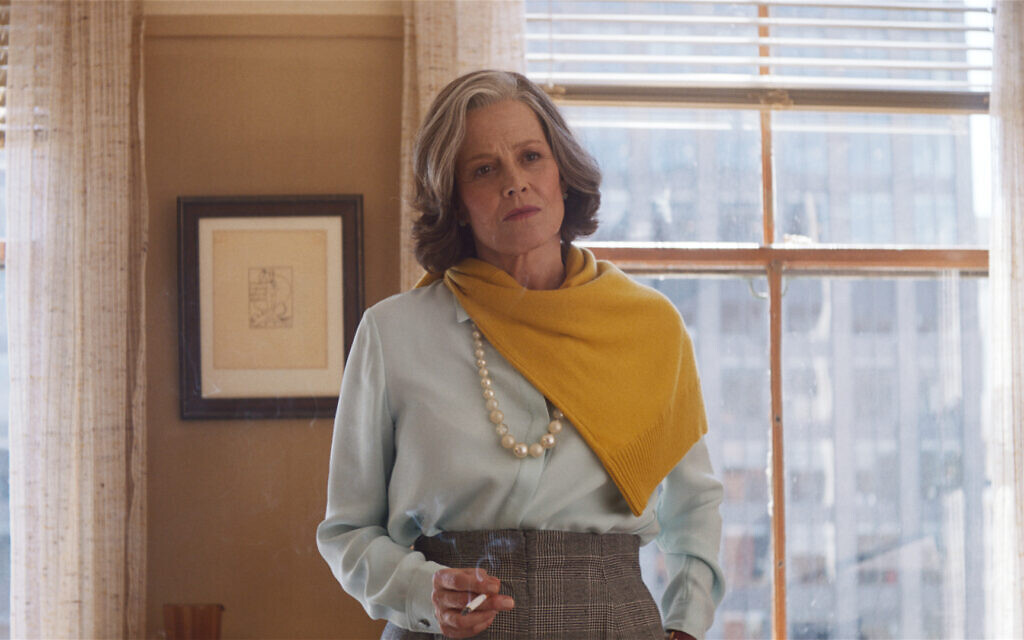 Sigourney Weaver as literary agent 'Margaret' in 'My Salinger Year.' (Courtesy of IFC Films)