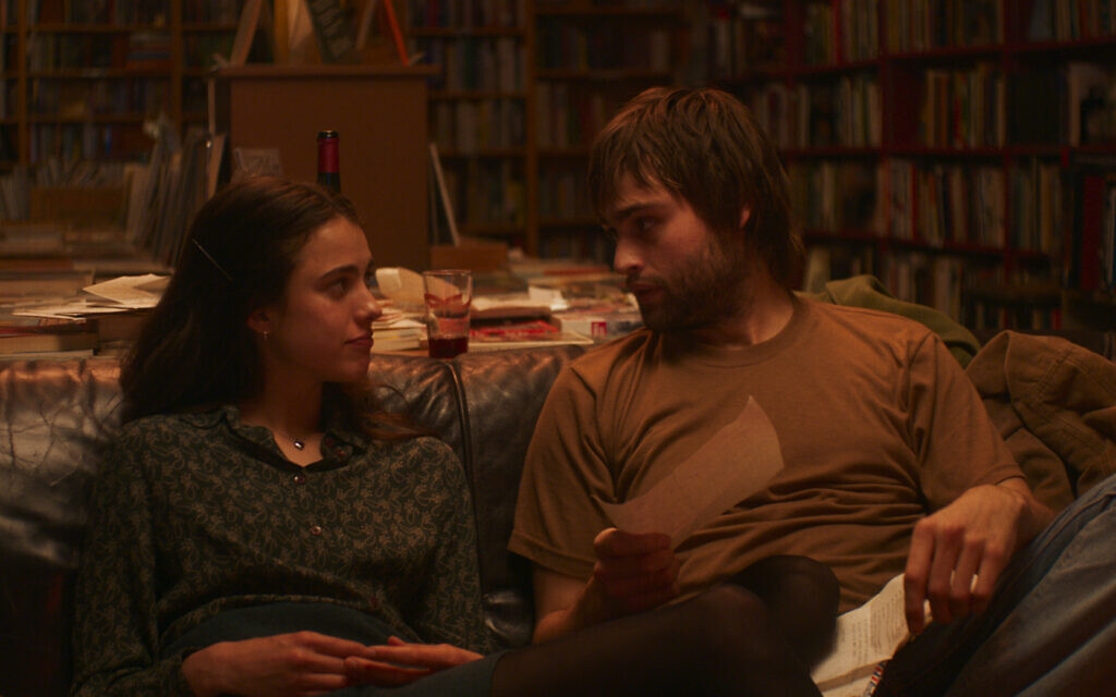 Margaret Qualley as 'Joanna' and Douglas Booth as 'Don' in 'My Salinger Year.' (Courtesy of IFC Films)